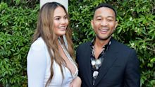 Chrissy Teigen's Daughter Luna Is Dad John Legend's Biggest Fan Clapping Along as He Sings on TV