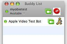 iChat Borderless mod