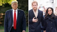 Trump Says He's 'Not a Fan' of Meghan Markle, Wishes Prince Harry Luck 'Because He's Going to Need It'