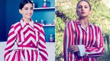 Sonam and Huma end up wearing identical print at Cannes