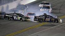 Truex Jr., Hamlin and Montoya spin off 4