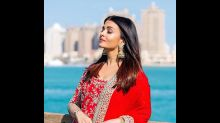 Aishwarya Rai Bachchan Looks Heavenly And Gives Bridal Goals With This Red And Gold Sharara