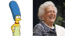'The Simpsons' Showrunner Shares Barbara Bush's Letter To Marge Simpson