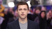 Tom Holland shows off body transformation for Uncharted movie