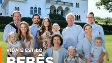 Família real sueca desbanca britânica com fofura!