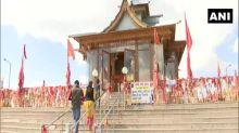Devotees visit Shimla's Hatu temple to offer prayers during Navratri