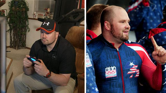 Outside the Games: Bobsledder Steve Holcomb stays focused by playing video games