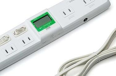 Sanwa rolls out wattage-watching power strip