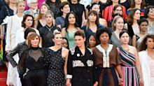 Kristen Stewart, Ava DuVernay, and More Celebrities Participate in Cannes Film Festival Red Carpet Protest
