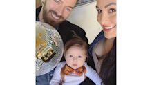 Nikki Bella Celebrates First Thanksgiving as a Mom with Son Matteo, 3½ Months: 'Beyond Grateful'