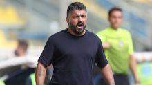 """Napoli, Gattuso: """"Vogliamo la Champions League. Osimhen ha una marcia in più"""""""