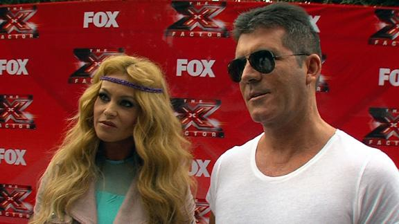 'The X Factor': Simon Cowell - 'It's Tough' Working With Three Women