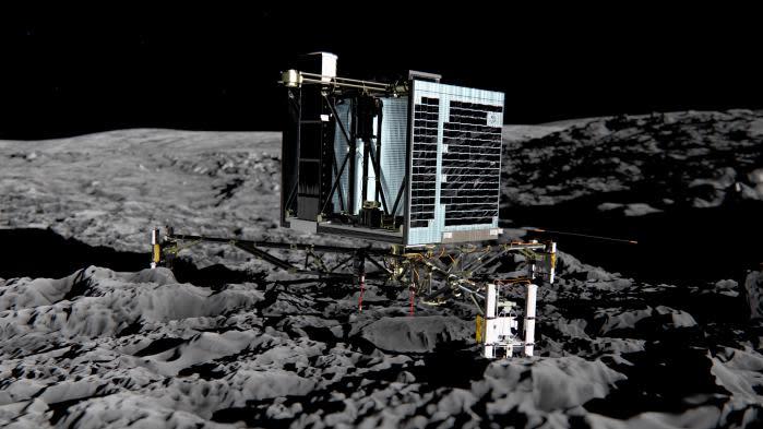 La sonde Rosetta a localisé le robot Philae, dont on avait perdu la trace pendant deux ans