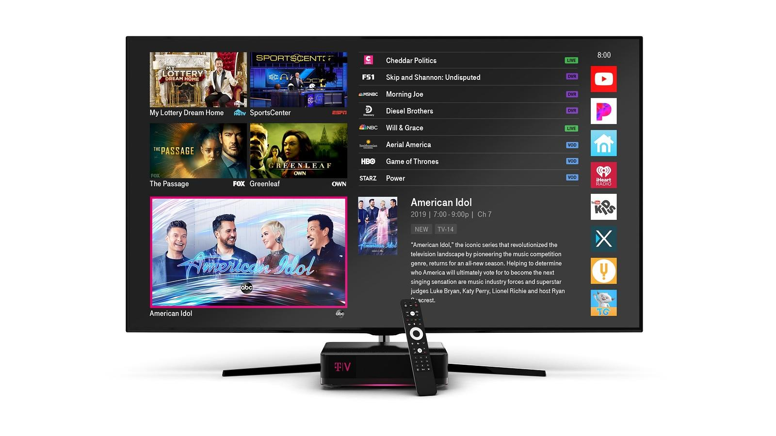 T-Mobile Is Killing Off the TVision Home Internet TV ...