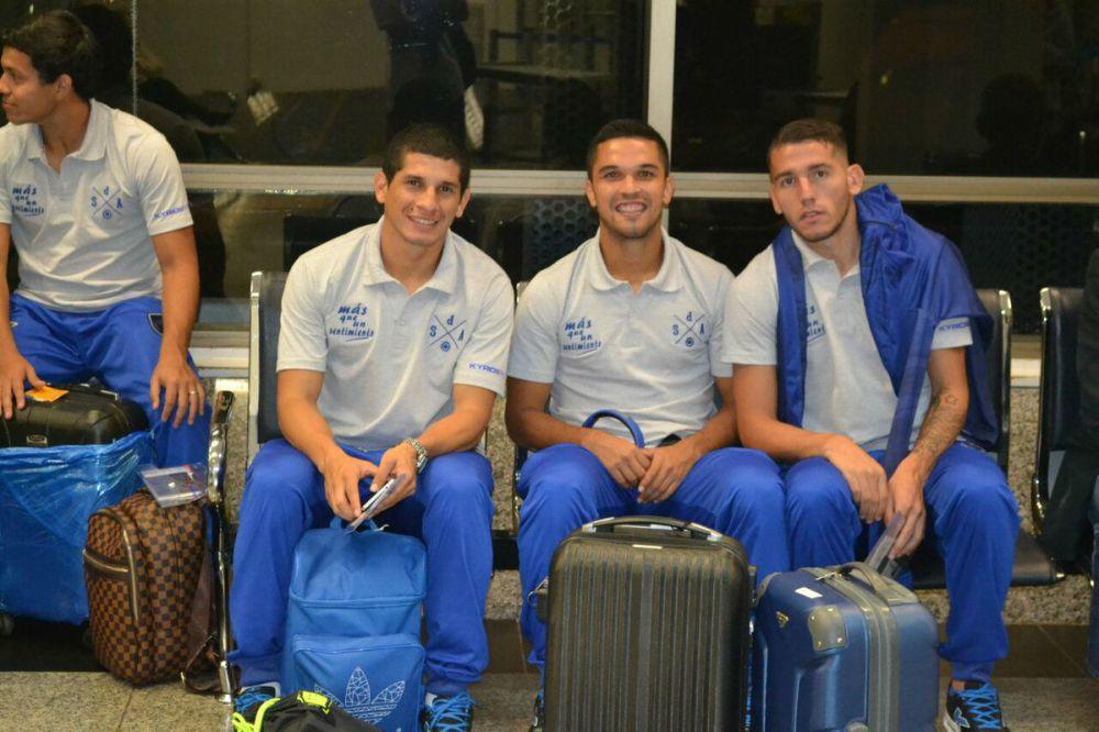 El Danzarín llegó a Caracas para su debut en la Sudamericana