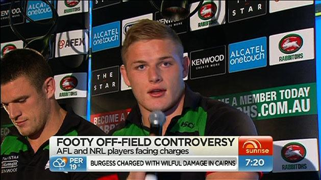 The trouble with footy stars