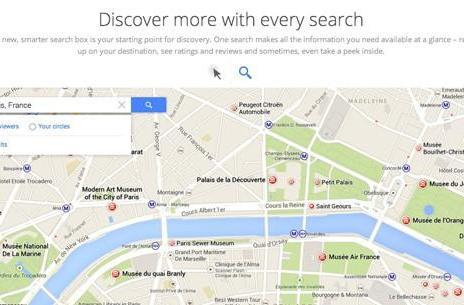 Sign-up page for revamped Google Maps shows off plenty of new features