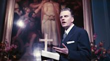 Intoxicating, with film star looks and a voice to match: The day I attended Billy Graham's last sermon