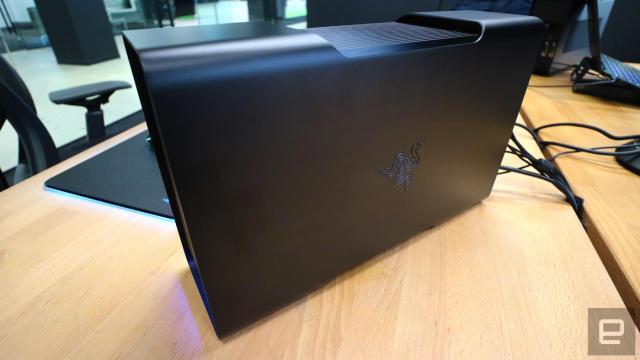 Razer's 'Core' external GPU ships in April for $500