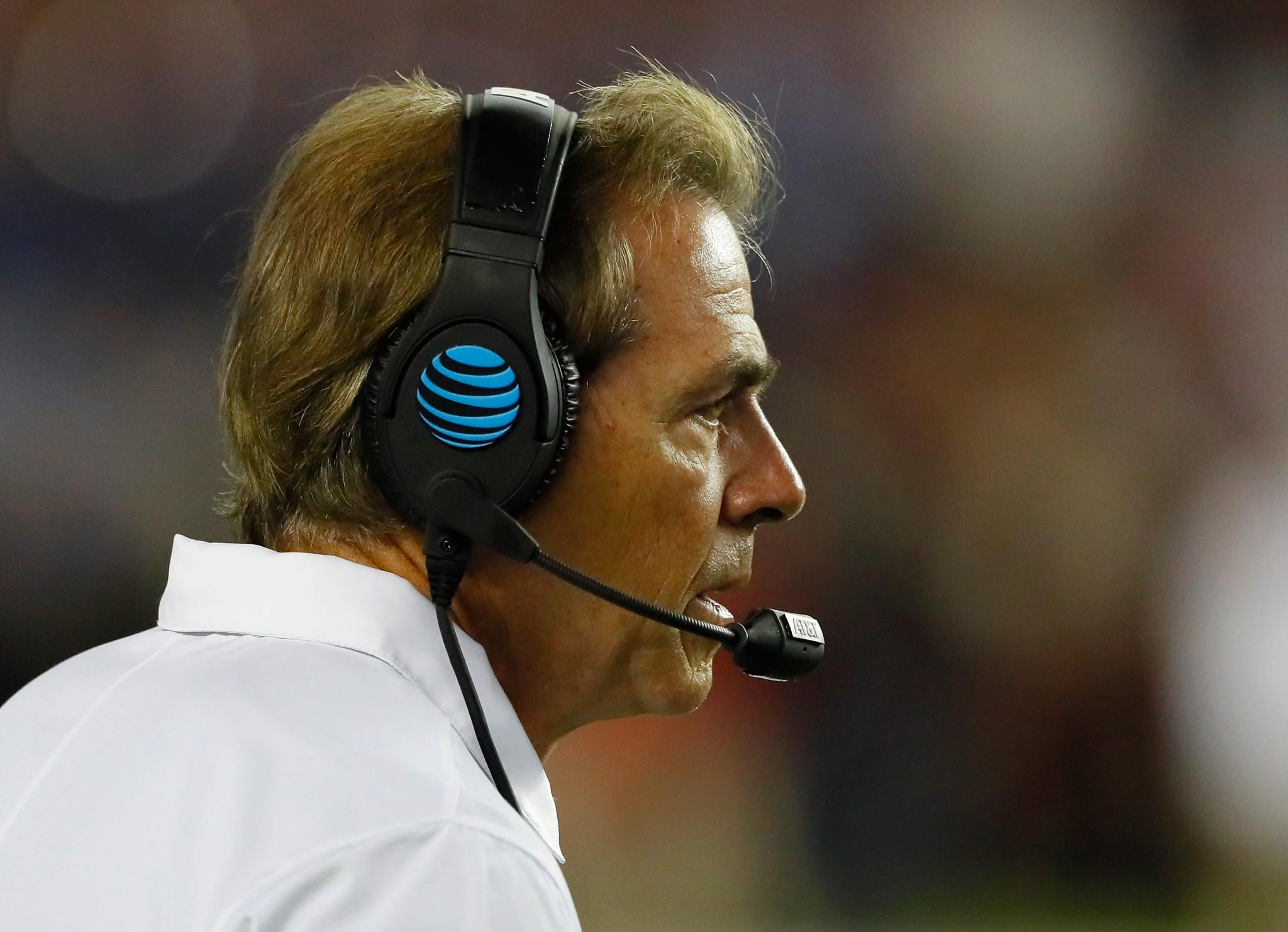 Nick Saban did it again And in style The Alabama Crimson Tide head coach led his squad to victory over the Georgia Bulldogs in a thrilling overtime
