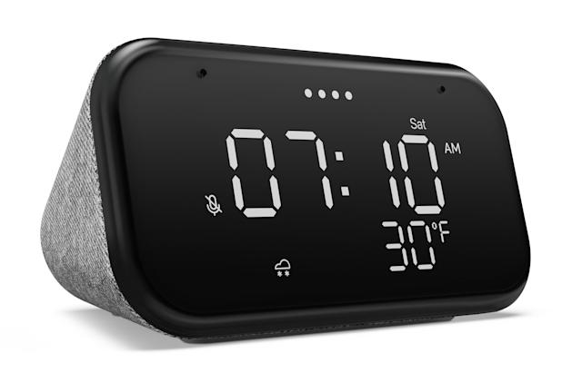 Lenovo's new $50 smart clock keeps things stupid simple