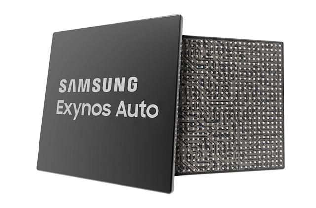 Samsung unveils Exynos chips built for connected cars