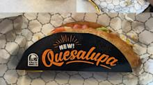 Taco Bell Unveils Its Quesalupa During the Super Bowl. Here's What It Tastes Like