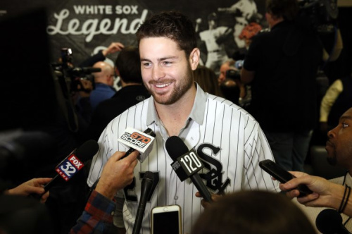 Lucas Giolito was the biggest name the White Sox received in the Adam Eaton deal. (AP Photo)