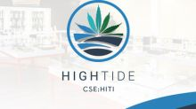 High Tide Announces 13th Canna Cabana Store Selling Recreational Cannabis in Alberta