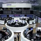 European shares on the rise while autos stocks stall