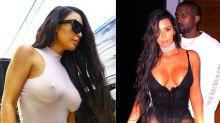 Kim Kardashian se pasea en lencería por Miami