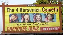Billboard Company To Pull Gun Shop Ad That Calls 'Squad' Idiots