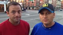 Lee Goldberg attended Boston Marathon to see his brother run