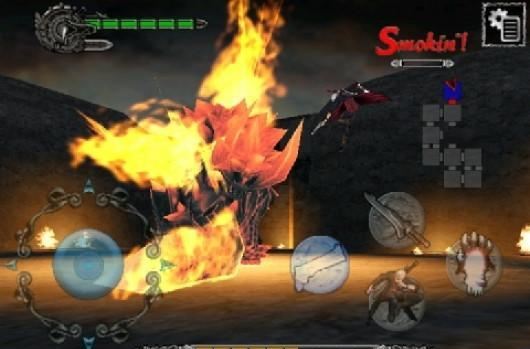 Devil May Cry 4 Refrain sliced, diced for iOS