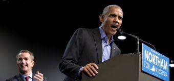 Obama counters Trump in return to politics