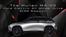 Mullen Technologies is Now Accepting Pre-Orders for Its MX-05 Pure Electric All-Wheel Drive SUV