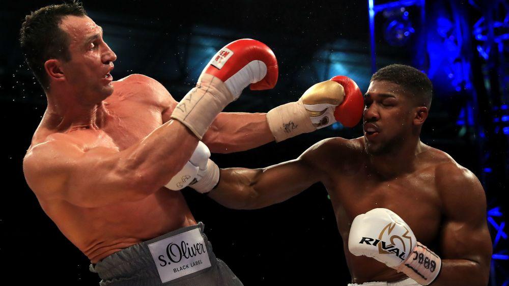 Joshua knocks out Klitschko in Wembley epic