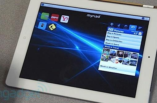 Hands-on with Myriad's Alien Dalvik 2.0 on an iPad (video)