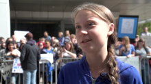 Greta Thunberg: Powerful men like Trump 'want to silence' young climate activists