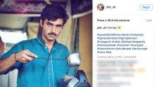 Venditore di tè pakistano diventa modello grazie al web