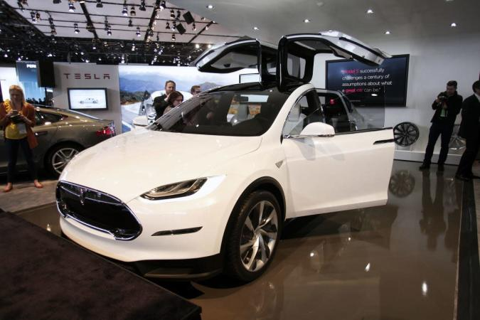 That decked-out first-run Tesla Model X will cost you $140K