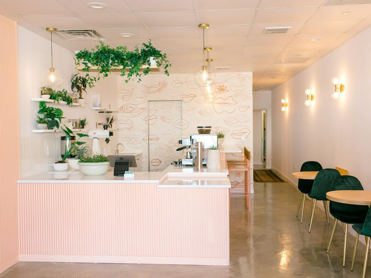 """The coronavirus pandemic isn't slowing down the grand opening of the first """"connected salon and café"""" in Montclair."""