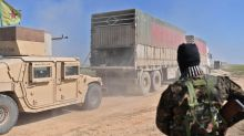 Syrie: Des camions transportant hommes, femmes et enfants quittent le dernier bastion aux mains de Daech