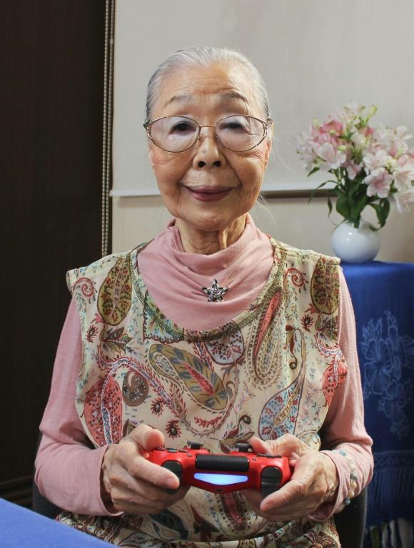 Mori is something of an evangelist for video games, and encourages other older people to get into gaming, or find other hobbies (AFP Photo/Handout)