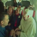 The Pope married two flight attendants in an impromptu midair wedding