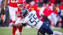Titans activate linebacker Jayon Brown from PUP list