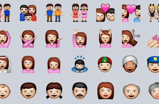 Apple is working on getting more diversity into its emoji characters