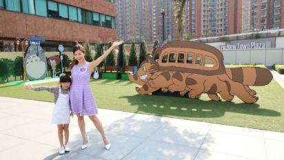 期間限定!戶外龍猫親子公園 再現貓巴士場景