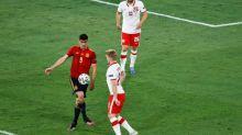 Foot - Euro - ESP - Le penalty raté de Gerard Moreno lors d'Espagne-Pologne