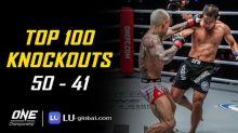 VIDEO: Top 100 Knockouts di ONE Championship, Aksi Timofey Nastyukhin Kalahan Edoard Folayang